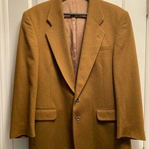 Designer Fioravanti Cashmere100% Blazer/KhakiBrown